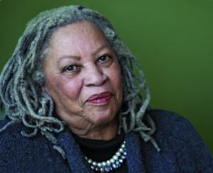 A photograph of author Toni Morrison by Michael Lionstar